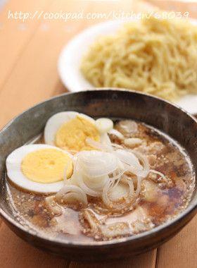みんなに大人気のラーメン!おうちで、つけ麺にして食べてみよう!のサムネイル画像