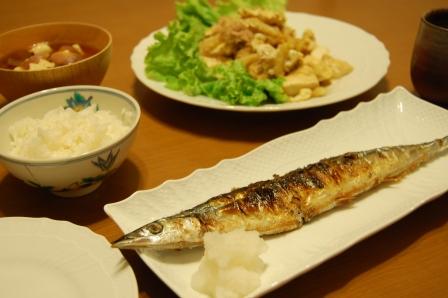 和食でも洋食でも美味しく食べられる!さんまがメインの献立!のサムネイル画像