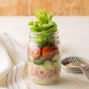 おしゃれ~で、お手軽に作れるジャーサラダ!作り方5選!!!のサムネイル画像