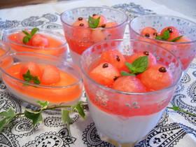 夏になったら作りたい!スイカを使った美味しいデザートの作り方♪のサムネイル画像