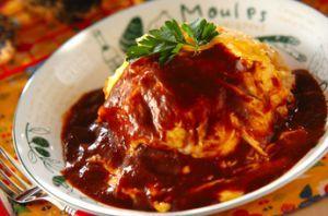 みんなの人気者オムライス♡デミグラスソースのレシピです♡のサムネイル画像