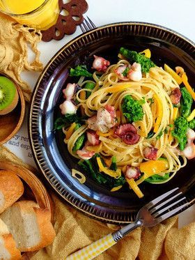 飽きがこない、和風パスタ❀美味しそうなレシピあつめましたよ!のサムネイル画像