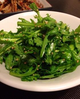 栄養満点!美味しく食べられる春菊のレシピをまとめました♪のサムネイル画像