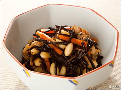 ひじき煮物が残ったら・・・ひじき煮物のリメイクレシピ5選♪のサムネイル画像