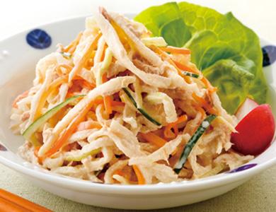 大人気!!美味しくてヘルシーな切り干し大根のサラダの人気レシピ5のサムネイル画像