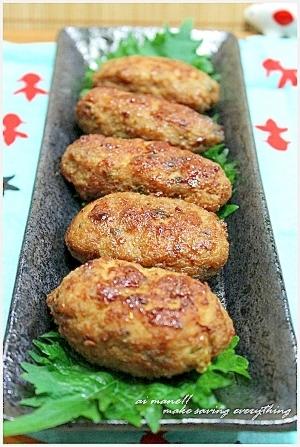 煮ても焼いても☆手軽で美味しい豚ひき肉つくねのおすすめレシピのサムネイル画像