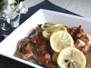 鶏肉&レモンde美味しくCooking♪爽やかな味と風味満載noチキン♪のサムネイル画像