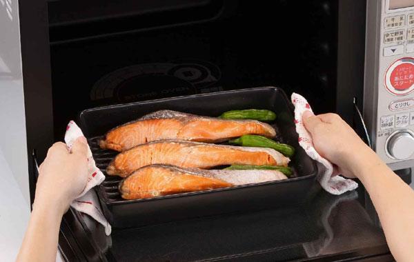 グリルがなくても電子レンジでも美味しく食べれる魚焼きのコツのサムネイル画像