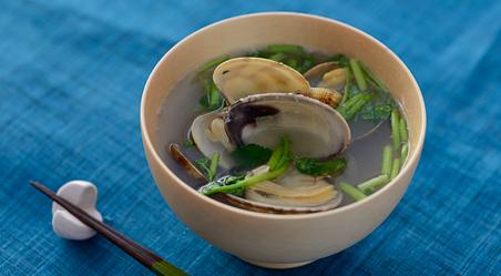 じんわり沁みる和食のおとも、【あさり】の簡単お吸い物レシピのサムネイル画像