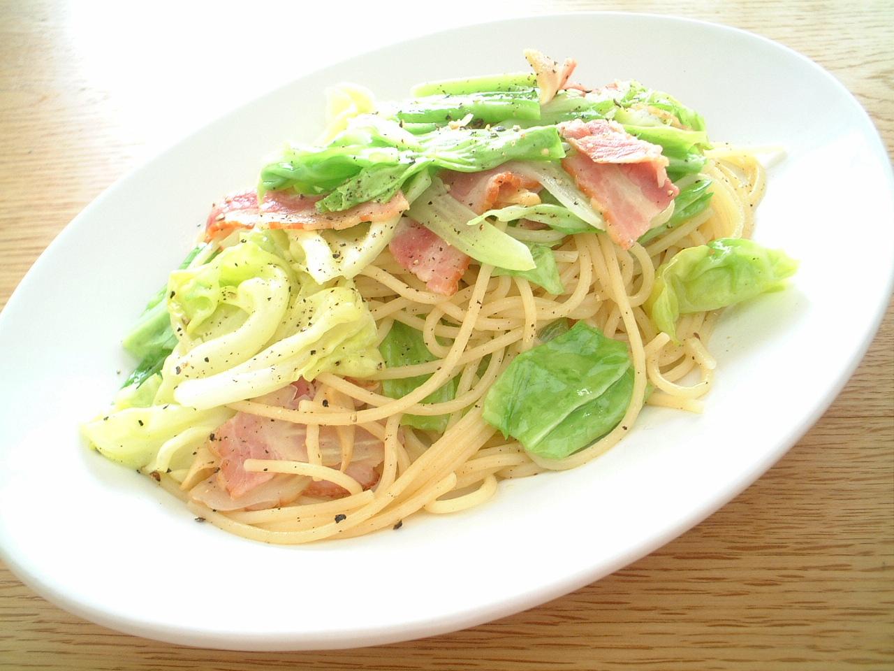 食感と甘みが味わえる♪キャベツを使ったパスタ料理レシピ☆のサムネイル画像