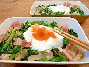 ほうれん草と卵を使って作ろう♪栄養満点おかずレシピ☆4選☆のサムネイル画像