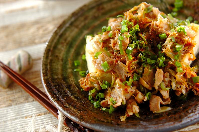 かさ増し&ヘルシー!豚肉とお豆腐のおすすめレシピをご紹介♪のサムネイル画像