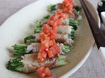 食欲そそる♥水菜と豚肉を使ったご飯がすすむおかずレシピ4選のサムネイル画像