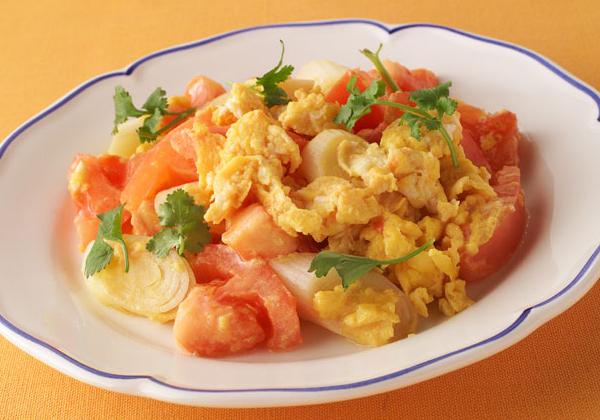 旬の卵と冷蔵庫にある卵で何作る?トマトと卵を使ったおすすめレシピのサムネイル画像