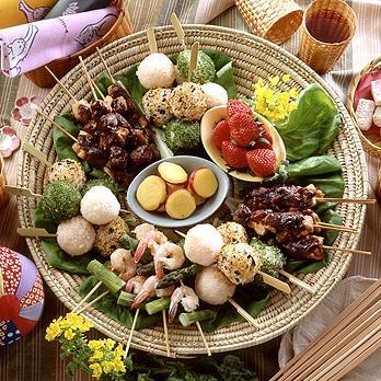 使い方ひとつ☆いつものお総菜が楽しく!お洒落で美味しい串料理に♪のサムネイル画像
