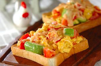 いつものトーストが大変身!簡単で美味しいトーストレシピ5選のサムネイル画像