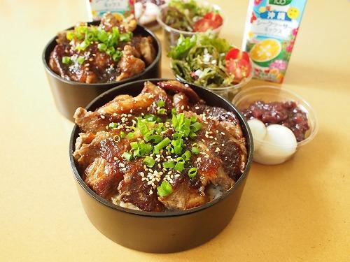 簡単おいしい「丼弁当」!毎日でも飽きないレシピお教えしますのサムネイル画像