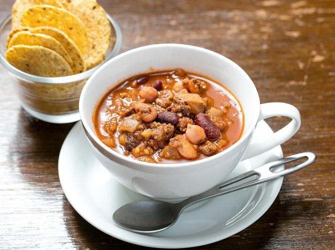 アメリカの国民食「チリコンカン」。ぜひ試してほしいレシピです。のサムネイル画像