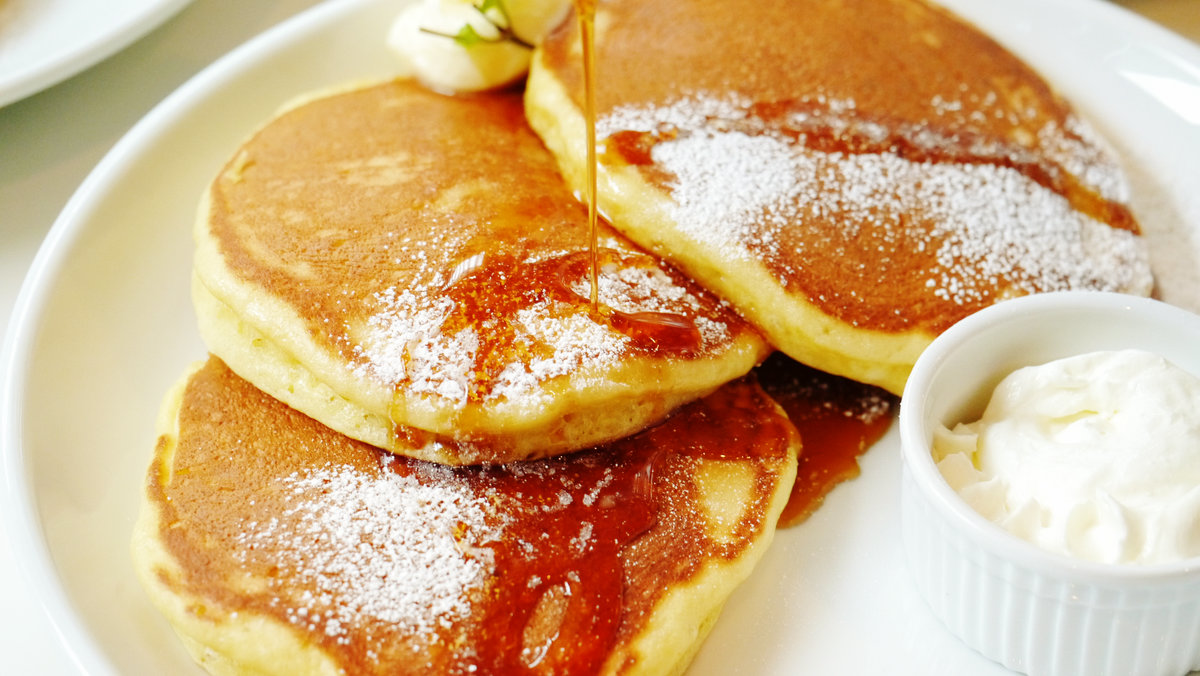 朝やおやつに食べたい、パンケーキやホットケーキのレシピ集。のサムネイル画像