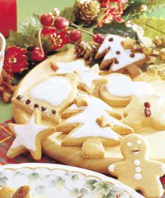 冬休みに一緒に作ろう!こどもでも簡単な型抜きクッキーレシピまとめのサムネイル画像