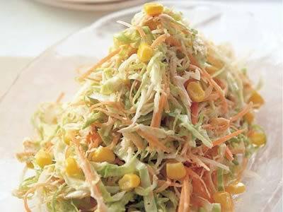 サラダを作るならコールスローサラダに決まり!簡単おいしいレシピのサムネイル画像