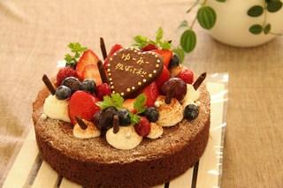 簡単&かわいい♪手作りガトーショコラのおすすめデコレーション7選のサムネイル画像