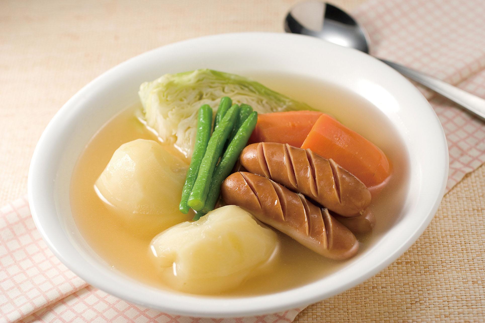野菜たっぷり!体温まるポトフの美味しい人気レシピをご紹介♪のサムネイル画像