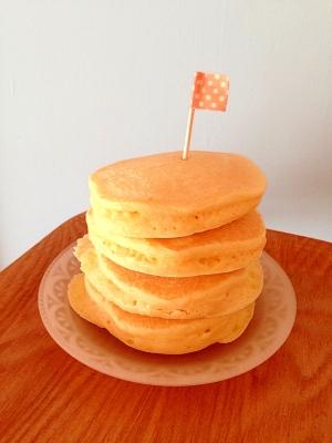 ホットケーキ好き必見!!ホットケーキの簡単アレンジレシピのサムネイル画像