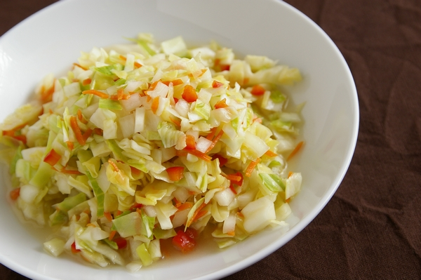シンプルだけど止まらなくなっちゃう味☆コールスローの人気レシピのサムネイル画像