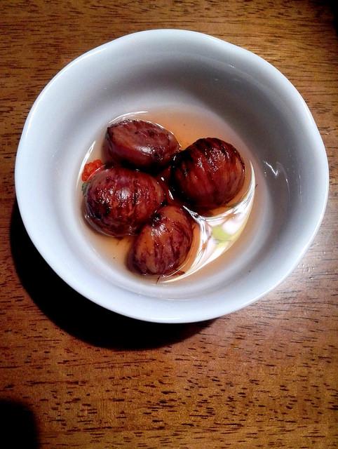 らぶり~な味と香りにメロメロメロ~!何たって渋皮煮!!のレシピ5のサムネイル画像
