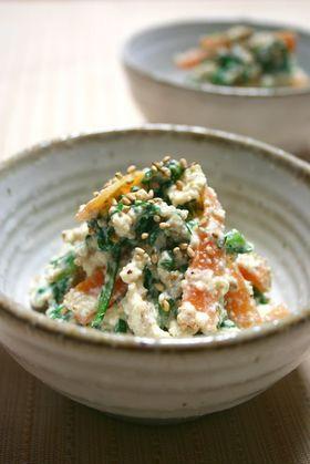 お野菜、たっぷり!しみじみ美味しい、白和えの人気レシピ!のサムネイル画像