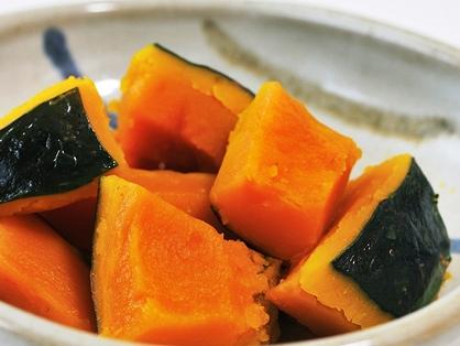 和食の定番!あまくてホクホク美味しいかぼちゃの煮物レシピのサムネイル画像