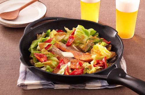焼き鮭に飽きたらフライパンで作りましょう♪フライパンで鮭レシピ!のサムネイル画像