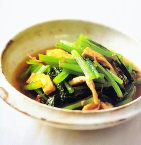 誰でも美味しくつくれちゃう!小松菜の煮びたし、簡単レシピ集!のサムネイル画像