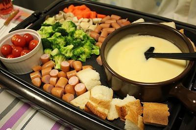 ホットプレートで作る♪簡単チーズフォンデュのレシピまとめのサムネイル画像