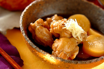 ホロホロ手羽元、こっくり味しみ大根が圧力鍋で簡単にできるレシピのサムネイル画像