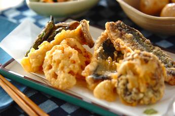 油であげるだけ天ぷらレシピご紹介!ちょっと意外な天ぷらも?のサムネイル画像
