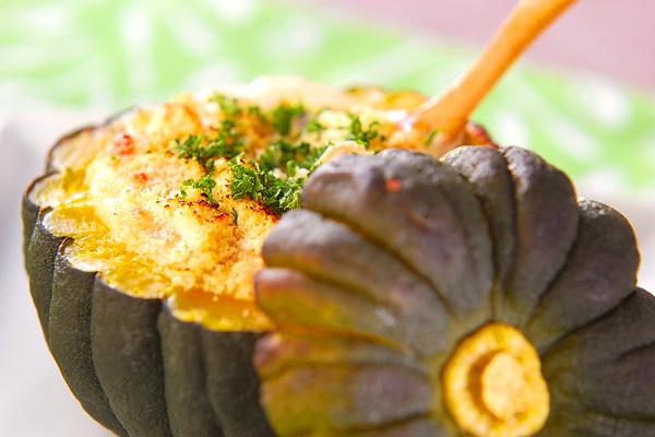 冷凍かぼちゃで食べたい分だけ作る♪お弁当にも便利なおかずのサムネイル画像