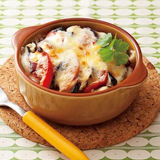 なすが苦手な人も食べれる!なすとチーズを使った美味しいレシピのサムネイル画像