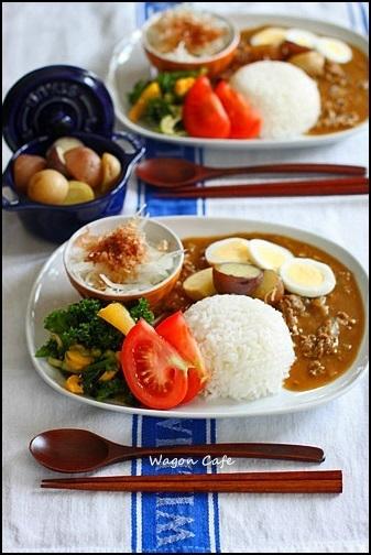 カレーと一緒に何食べよう?カレーとよく合う付け合わせレシピ5選のサムネイル画像