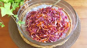 色鮮やかな紫キャベツで作る【いつものおかず・常備菜】レシピのサムネイル画像