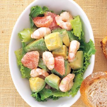 エビとアボカドの美味しいサラダのおすすめレシピと作り方♪のサムネイル画像