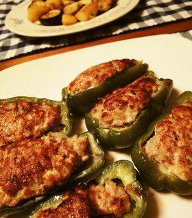 ソースを変えて色々楽しもう!ピーマンの肉詰めおすすめレシピのサムネイル画像