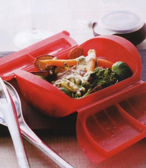 オーブンで時短調理に使える便利アイテム!シリコン調理器具のサムネイル画像