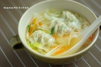 ぽかぽか身体もこころもあったまる♪水餃子のスープレシピ!のサムネイル画像