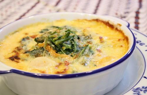ほうれん草を使った美味しい&栄養も取れるグラタンレシピ5選のサムネイル画像