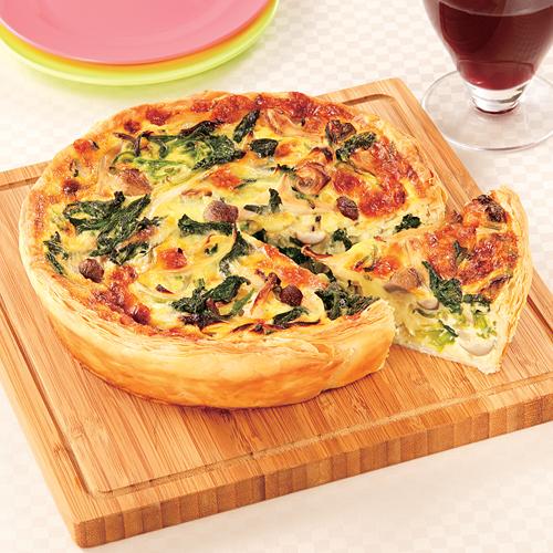 朝食やランチに!ほうれん草を使った美味しいキッシュのレシピ5選のサムネイル画像
