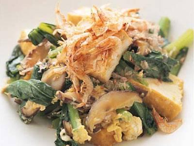 給料前の救世主♪カルシウムたっぷり☆小松菜と厚揚げの絶品レシピのサムネイル画像
