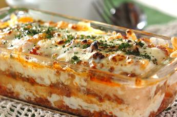 今晩の献立にオススメ!とろ~りチーズが絶品♪ラザニアレシピまとめのサムネイル画像