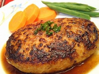 豚肉deハンバーグ☆こだわりno豚肉ハンバーグ☆アレンジレシピのサムネイル画像